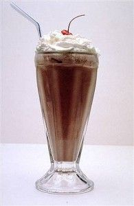 How to make chocolate shake? Here are 4 steps. Follow me step by step.