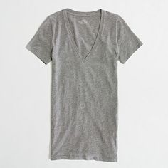 Factory layering V-neck tee - Knits & Tees - FactoryWomen's New Arrivals - J.Crew Factory