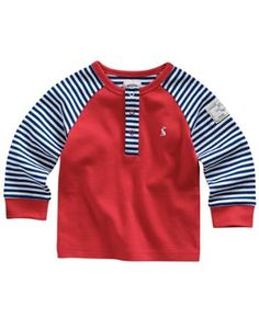BABY LIAM Baby Boys Long Sleeved Jersey Top