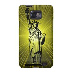 Statue of Liberty Galaxy SII Cover #StatueOfLiberty #Statue #Liberty #Freedom #Immigrant #Diversity #Mobile #Phone #Samsung #Case #Cover