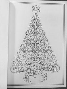 Creative Haven Christmas Trees Coloring Book Books Barbara Lanza 0800759803903 Amazon