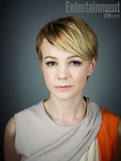 carey mulligan pixie with long bangs