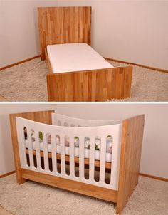 Crib, Couch & Bed: Convertible Furniture Grows with Kids