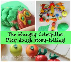The Imagination Tree: The Hungry Caterpillar Play Dough Story-telling