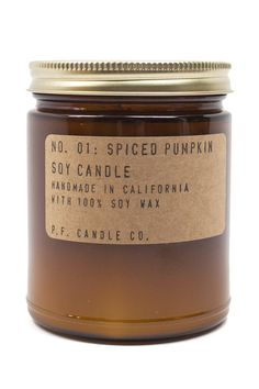 Spiced Pumpkin Candle on www.mooreaseal.com