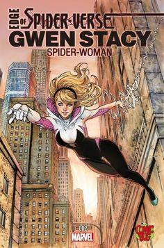 Edge of Spider-Verse: Spider-Gwen #1 by Siya Oum *