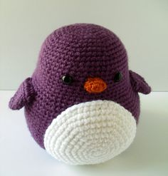 Puddles the Crochet Penguin by BluephoneStudios on Etsy, $25.00