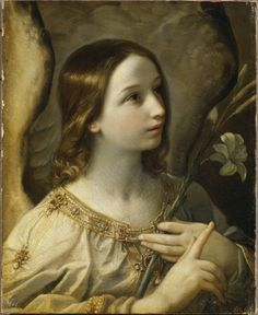 Guido Reni;Archangel Gabriel,1575-1642