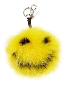 Happy Fur Monster Charm For Bag, Yellow by Fendi at Neiman Marcus.