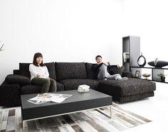 最高級ソファ「NewSugar Maximum Comfort 3人掛けカウチソファセット」:デザイン ソファ専門店 NOYES