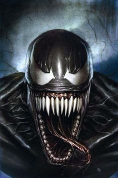 VENOM IS THE BEST THING IN SPIDER MAN... also this looks like MILEY CYRUS