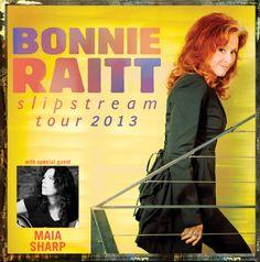 Bonnie Raitt February 17th-Mesa Arts Center  Mesa, Arizona - Friday, February 22nd-Pearl Concert Theater  Las Vegas, NV  Get your tickets at DannyZeliskoPresents.com