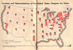British vs. American Politics in Minimalist Vintage Infographics | Brain Pickings