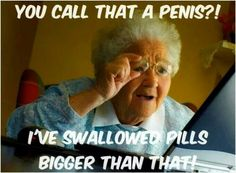 Call that a penis...