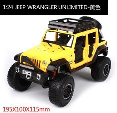 Maisto 1/24 Jeep Wrangler Unlimited Diecast Car Model