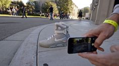 Nike 'Back to the Future' Air Mag shoes are real. - Peachtree Hoops
