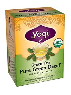 Yogi Tea Simply Decaf Green Tea, 16-count (Pack of6) *** Learn more by visiting the image link.