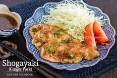 Classic Japanese ginger pork recipe, one of my favorite homemade dish with tender sliced pork in sweet ginger sauce.