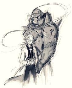 Brothers   by faragonart   Edward and Alphonse Elric   Fullmetal Alchemist Brotherhood   #FMAB   #anime