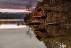 The Duke of Portland boathouse - Pooley bridge, Lake District by Ian Horner