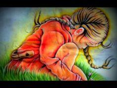 ▶ Pintando uma Menina - parte 2/2(Final) - Pintura em Tecido - Painting a Girl - YouTube