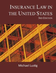The legal implications of – and the laws that govern – agent or broker conduct. Gain a lawyer's perspective in the principles of agency; agency powers and limitations; waiver and estoppel; misrepresentations and warranties by agents or companies, and hundreds of other laws that... more details available at https://insurance-books.bestselleroutlets.com/insurance-laws/product-review-for-insurance-law-in-the-united-states/