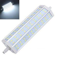 3X R7S 18W 1700-1750LM Pure White 60 SMD 5630 LED Bulbs AC100-265V