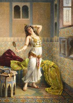 Artist: Francesco Ballesio @@@.....http://www.pinterest.com/marit0704/orientalist-paintings/