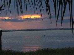 Por do Sol na Praia do Prata - Palmas - TO