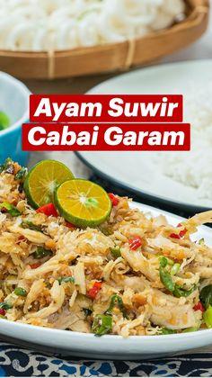 Spicy Recipes, Asian Recipes, Chicken Recipes, Easy Healthy Recipes, Easy Cooking, Cooking Recipes, Tastemade Recipes, Food Tasting, Indonesian Food