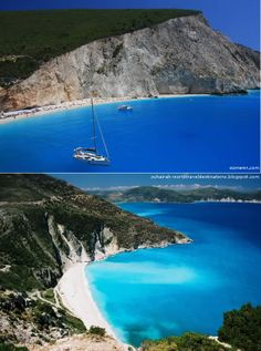Lefkada Island, Greece - http://destinations-for-travelers.blogspot.com/2012/12/ilha-e-porto-de-lefkada-grecia.html