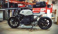 Twisted Brothers rear fairing designed to fit BMW It is strong… – Motorrad Cafe Racer Bmw K100, Bmw K100 Scrambler, K100 Bmw, Cafe Racer Seat, Cafe Racer Build, R80, Yamaha Virago, Cafe Bike, Cafe Racer Bikes