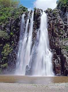 Niagara falls - Sainte Suzanne, Reunion island, Indian Ocean, Africa