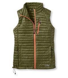 #LLBean: Ultralight 850 Down Sweater Vest