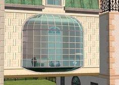 Mod The Sims - Extendable La Fenêtre Bay Window