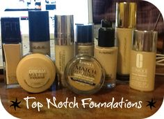Top foundations that work for my combo/dry skin! Inclides Maybelline, Rimmel, Clinique and YSL so something for all price ranges! http://somesparkleandshine.blogspot.co.uk/2013/01/top-10-foundations-for-dry-skin-ysl.html
