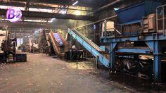 Visite de l'usine de recyclage des bouchons en plastique