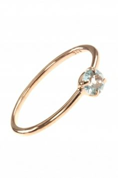rose gold plated topaz #stacking #ring I designed for NEW ONE I NEWONE-SHOP.COM