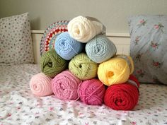 """Groovyghan meets Cath Kidston!"", my current crochet blanket project in CK inspired colors in progress... :)"