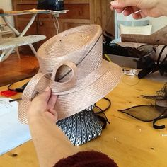 Millinery Workshops in France by Tracy Chaplin