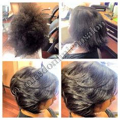 Blowouts Hair On Pinterest Dominican Hair Salons And Roads