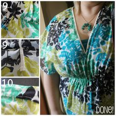 Dragonfly Designs: Simple Tunic Top Tutorial