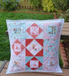 The Simple Life Pillow by Heidi Staples