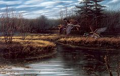 artist terry redlin | Consigliere S4 - The Art of Terry Redlin] Colorful Trio; Image ONLY