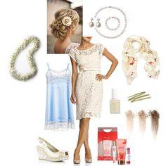 Little White Dress #2, created by hanaloha.polyvore.com