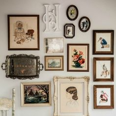 Unique Gallery Wall Ideas - How to Hang a Gallery Wall - Good Housekeeping
