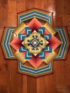 Rainbow of Light 24 – Asheville Mandala Weavers Tibetan Mandala, Earth Wind, Gods Eye, Catnip Toys, Sand And Water, Weaving Textiles, Native Art, Kind Words, Mandala Design