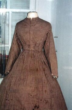 Civil War Nursing Work Dress