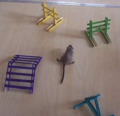 homemade gerbil toys - Google Search Gerbil agility