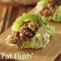 Lettuce Cup Tacos- Official Fat Flush Recipe